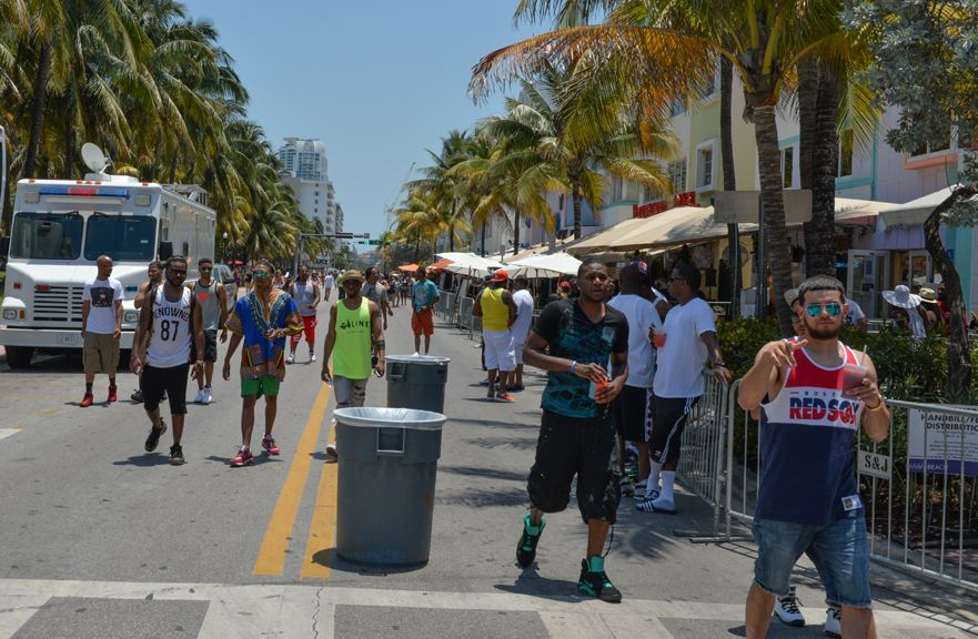 Ocean Drive es una de las arterias más populares de la Playa