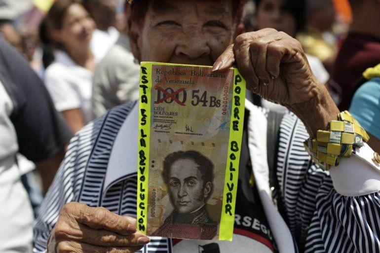 La inflación en Venezuela ha devaluado la moneda nacional