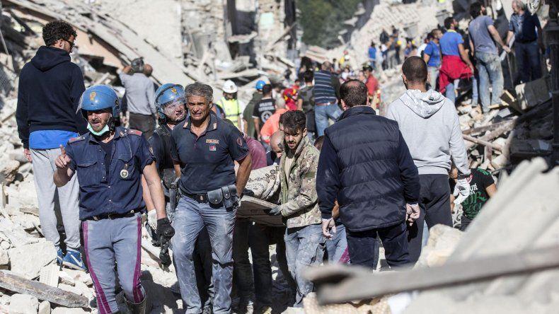 Los representantes de las instituciones europeas mostraron la disposición de la Unión Europea (UE) a dar su apoyo a las autoridades deItaliatras el terremoto en Amatrice