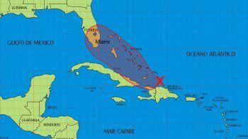 Onda tropical amenaza la zona situada al norte de la isla de Cuba.