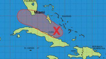 El sur de Florida sentiría sus efectos entre el domingo y lunes.