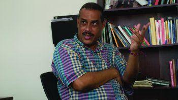 El periodista independiente cubano, Iván García, colaborador habitual de Diario Las Américas.