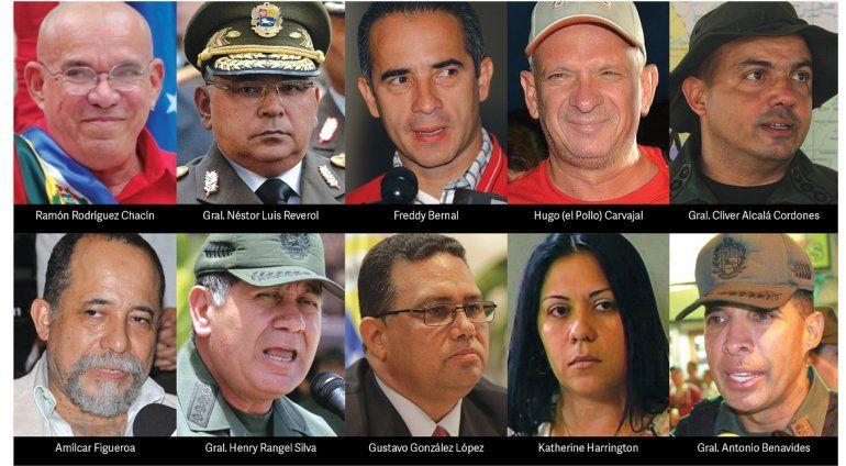 Más chavistas están en la mira de la justicia estadounidense