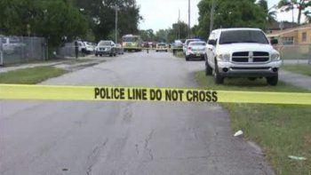 En esta cuadra del noroeste del Gran Miami se produjo el nuevo caso de sangre