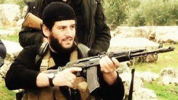 Abu Muhammad al Adnani, portavoz de la milicia terrorista Estado Islámico, ultimado este 30 de agosto en el norte de Siria.