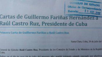 imagen de la carta entregada con el sello oficial de registro de. Consejo de Estado.