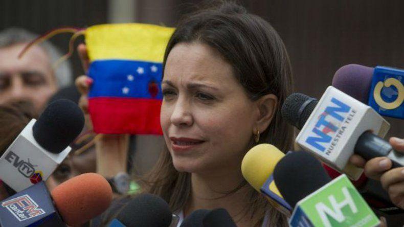 Machado calificó como un error de la oposición el haber detenido las acciones de calle en octubre de 2016