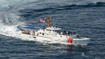 Imagen referencial de una embarcación de la guardia costera de EEUU.
