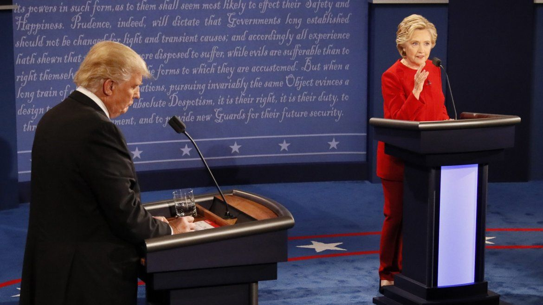 Ambos aspirantes a la presidencia demostraron su temperamento.
