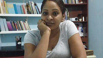 Laritza Diversent Cambara, 36 años, directora de CUBALEX