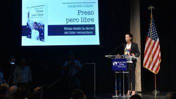 Antonieta Mendoza resaltó el valor del venezolano que sigue firme en su lucha por recuperar la democracia en el país sudamericano