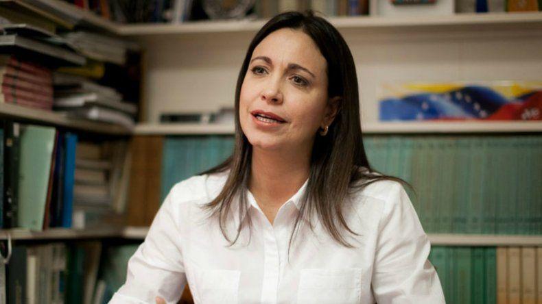 Machado recalcó que tiene confianza de que el documento no será suscrito por ningún miembro de la MUD.