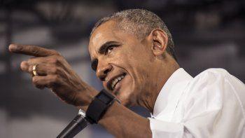 El presidente Obama pide a los estadounidenses que voten por Hillary Clinton