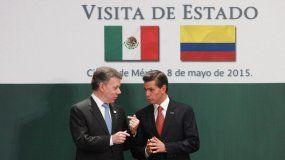 La visita de Estado de Peña Nieto a Colombia corresponde a una que Santos hizo a México en mayo de 2015