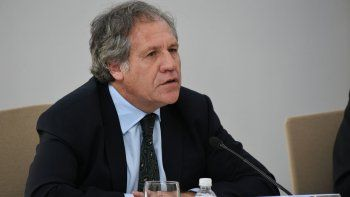 El Secretario general de la OEA, Luis Almagro participa en el conversatorio sobre las Democracias en América Latina, caso venezuela y Nicaragua