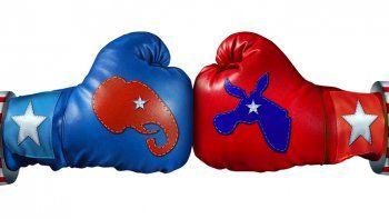 La semana del tercer debate presidencial ha sido muy agitada en ambos partidos