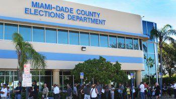 El voto temprano es la mejor manera de evitar las largas filas que se forman el día de las elecciones.