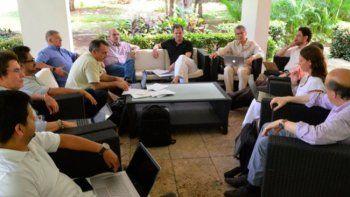 """En pleno optimismo"""" se desarrolló este sábado en La Habana, Cuba, la reunión entre delegados del Gobierno y las Farc para buscar una salida a los acuerdos tras el NO en el plebiscito"""