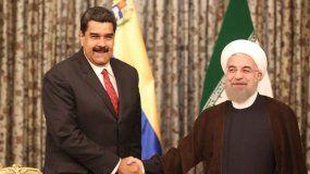 El Presidente venezolano, Nicolás Maduro Moros, fue recibido en el Palacio Saad Abad, por su homólogo iraní Hassan Rouhaní.