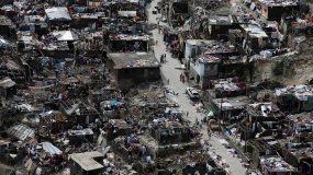 El huracán Matthew provocó a su paso por Haití 573 muertos y 175.500 desplazados
