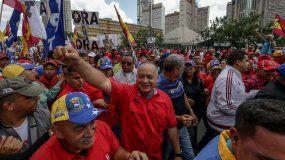 Cabello indicó que desde el chavismo no permitirán que la oposición destituya el jefe de Estado