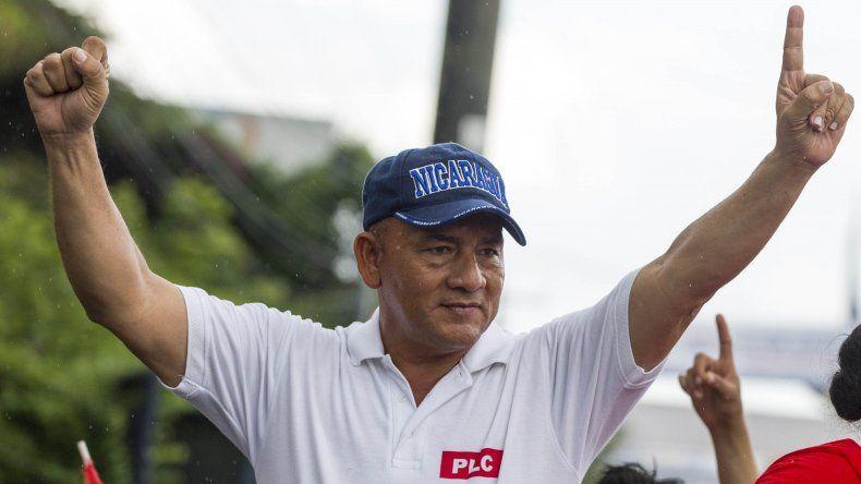 El candidato presidencial del opositor Partido Liberal Constitucionalista (PLC)