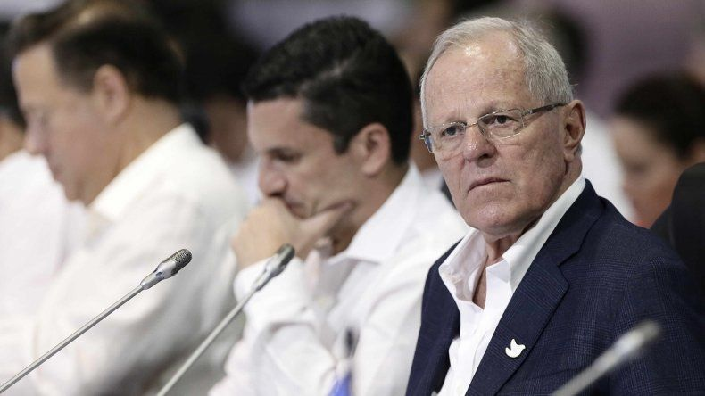 El presidente peruano PedroPabloKuczynski