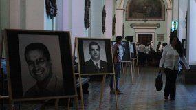 Familiares de los diputados del Valle asesinados por las FARC participan en una ceremonia de perdón con el grupo guerrillero.