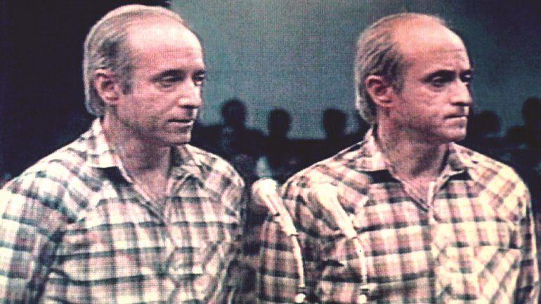 Antonio de La Guardia y su hermano Patricio.