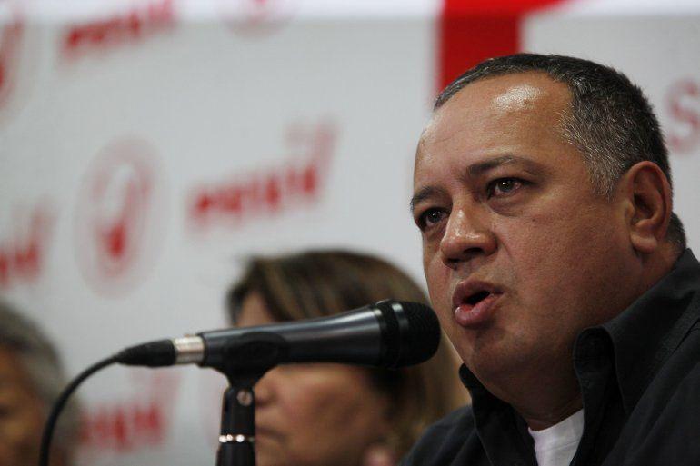 El dirigente chavista