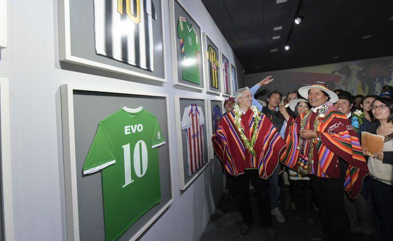 <p>Inauguración del Museo en homenaje a Evo Morales el 02FEB17 en Orinoca, Bolivia. </p><p></p>