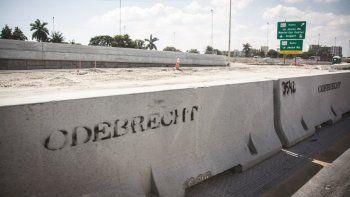La firma constructora brasileña realiza las obras de ampliación de la autopista 836.