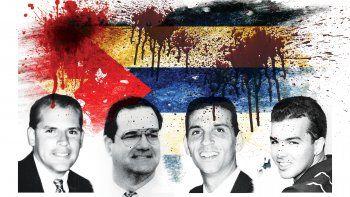 Armando Alejandre, Carlos Costa, Mario de la Peña y Pablo Morales murieron cuando las avionetas Cessna en las que volaban fueron abatidas en espacio aéreo internacional.