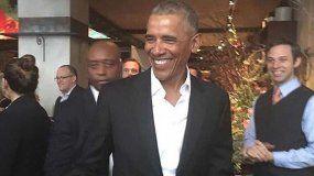 Obama causa furor en las calles de Nueva York