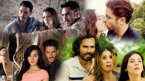 Algunas de las producciones de Univision y Telemundo durante el pasado año.