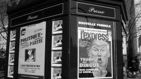 Semanario LExpress dedica la portada de esta semana al mandatario estadounidense.