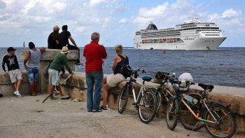 La llegada del turismo de cruceros a Cuba, visto con cierta distancia por los nacionales de la isla, ha incrementado el número de visitantes extranjeros en los últimos meses.