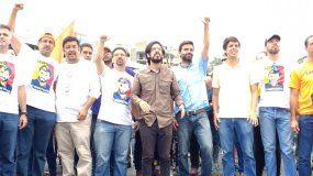 Parte de la dirigencia opositora que encabezó marcha hacia la cárcel de Ramo Verde.