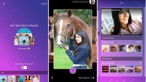 Con SpinUconstruyes historias con imágenes que rotan a voluntad alrededor de tu perfil y hablan de un tema determinado, asegura Gabriela Ayala, la creadora de la aplicación.