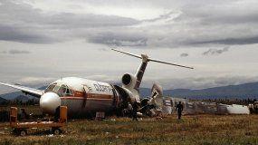 Imagen de archivo del vuelo CU-T1264 de Cubana de Aviación que se estrelló en agosto de 1998 en Quito, Ecuador, con 90 personas a bordo.