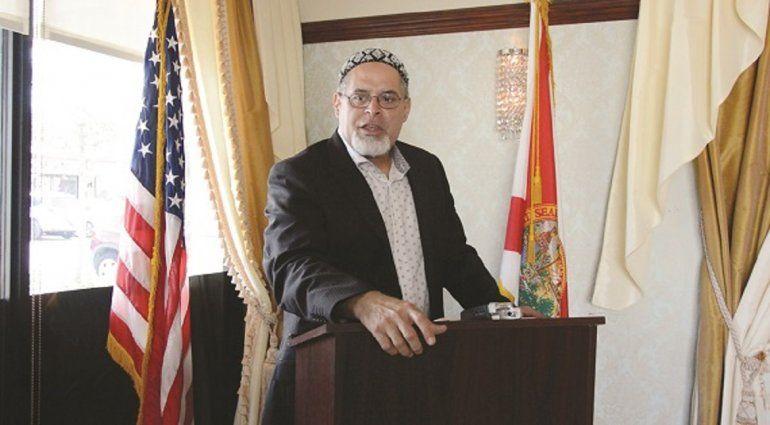 El capellán musulmán Wilfredo Amr Ruíz.