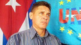 Jorge Cervantes, el activista de la Unión Patriótica de Cuba (UNPACU).