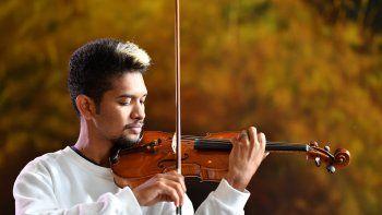 El violinista venezolano Wuilly Arteaga.