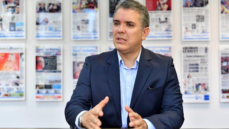Iván Duque Márquez, senador y precandidato a la presidencia de Colombia.