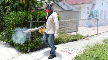 Durante el llamado de advertencia de zika en Wynwood se realizaron tareas de fumigación
