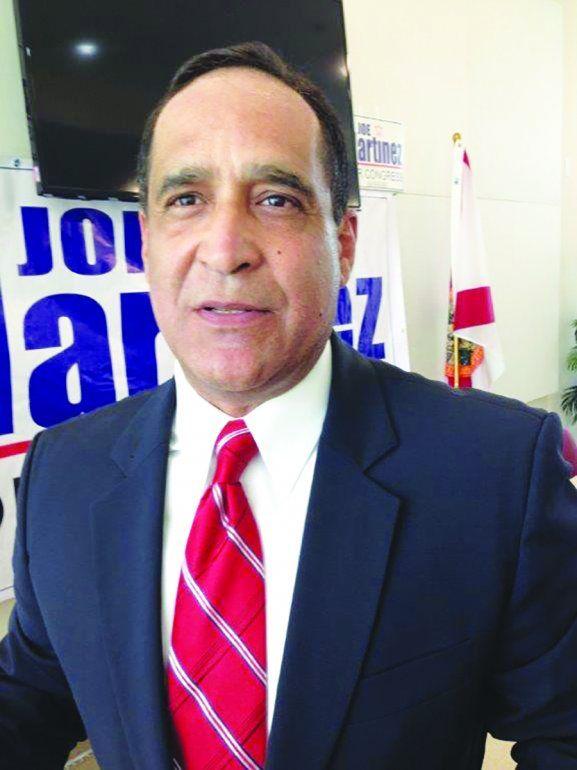 El comisionado de Miami-Dade Joe Martínez