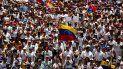 Los venezolanos toman las calles de Venezuela en protesta contra el presidente Nicolás Maduro