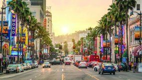 El Boulevard de Hollywood.