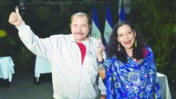 Daniel Ortega y Rosario Murillo, la pareja presidencial que gobierna Nicaragua.