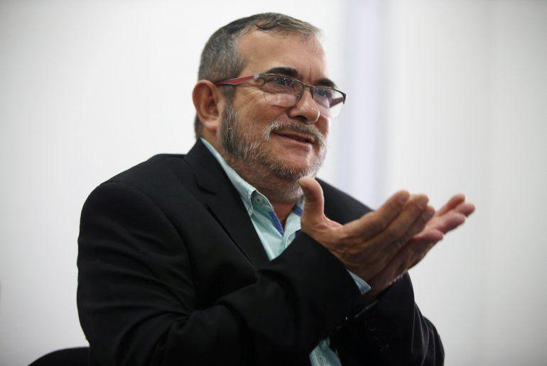 """Resultado de imagen de """"Timochenko"""" presidirá el partido político de las FARC"""
